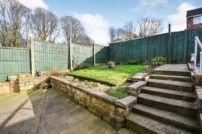 Garden of Caton Close, Sutton-In-Ashfield, Nottinghamshire, Notts NG17