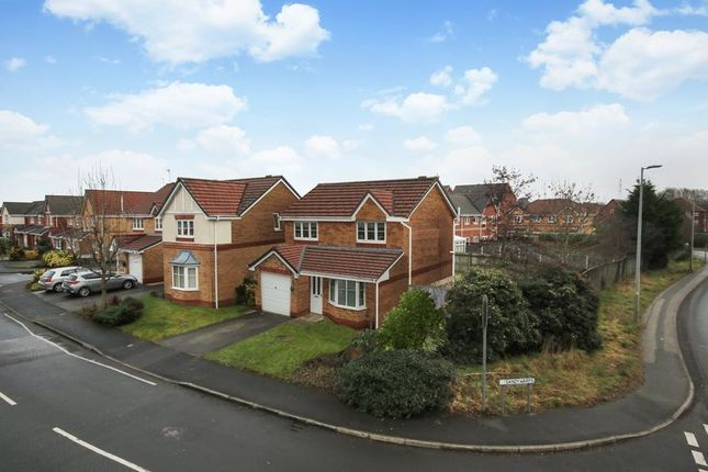 Thumbnail Detached house for sale in Sandywarps, Irlam, Manchester