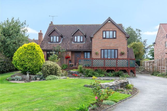 Thumbnail Detached house for sale in Herons Flight, The Green, Stillingfleet, York