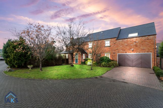 Thumbnail Detached house for sale in Hayley Croft, Duffield, Belper