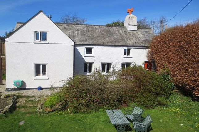 Thumbnail Detached house for sale in St Clether, Launceston, Cornwall