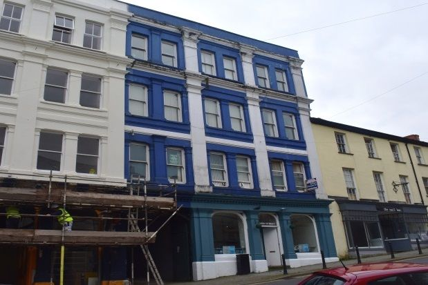 Thumbnail Flat to rent in High Street, Haverfordwest