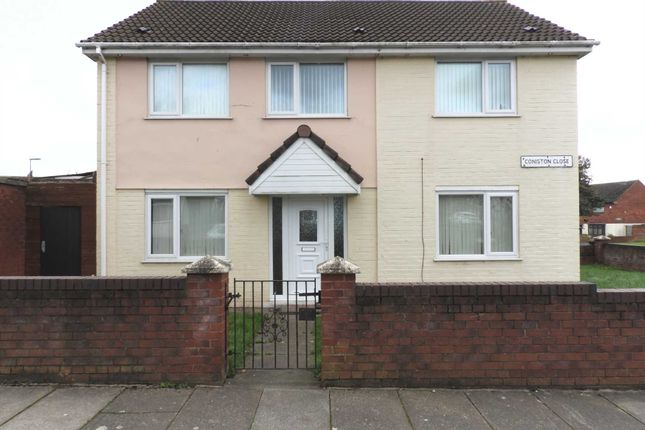 Link-detached house for sale in Coniston Close, Kirkby, Liverpool