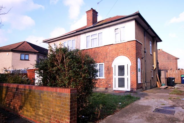 Thumbnail Semi-detached house for sale in Kingshill Avenue, Northolt, Middlesex