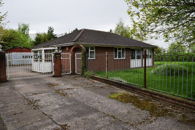Thumbnail Detached bungalow for sale in St. Georges Road, Donnington, Telford, Shropshire