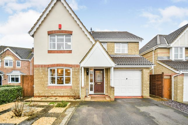 Thumbnail Detached house for sale in Fallow Field Close, Chippenham