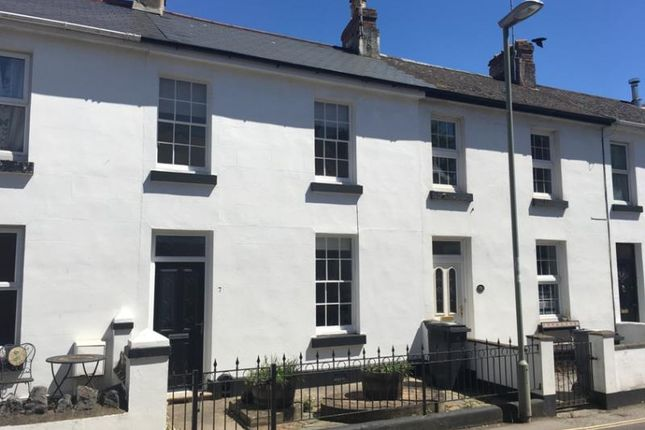 Thumbnail Terraced house to rent in Alexandra Road, Dawlish