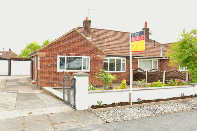 Thumbnail Detached bungalow to rent in Derwent Road, Harrogate