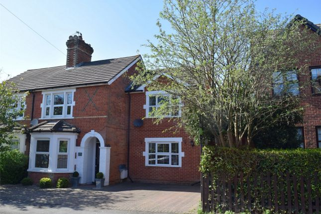 Thumbnail Semi-detached house for sale in Middle Gordon Road, Camberley, Surrey