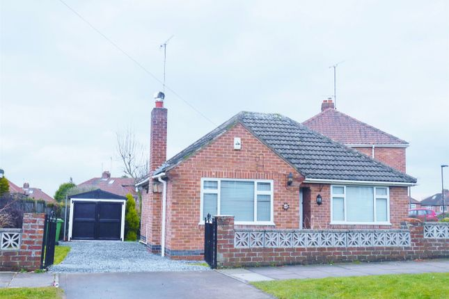Thumbnail Detached bungalow for sale in Howe Hill Close, Holgate, York
