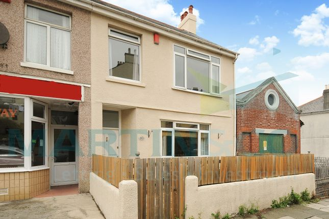 Thumbnail End terrace house to rent in Pasley Street, Plymouth