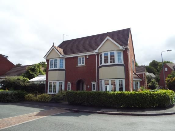 Thumbnail Detached house for sale in Cavell Road, Burntwood, Staffordshire