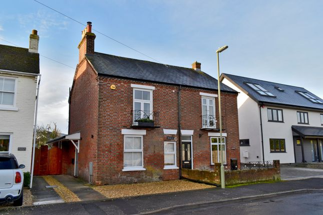 Semi-detached house for sale in Spring Road, Lymington