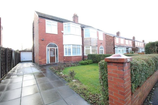 Thumbnail Semi-detached house for sale in Manley Road, Whalley Range, Manchester