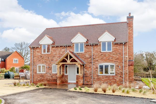 Thumbnail Detached house for sale in Brinkley Drive, Hanley Castle, Worcestershire