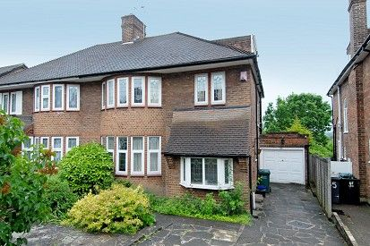 Thumbnail Semi-detached house to rent in Northiam, London N12,