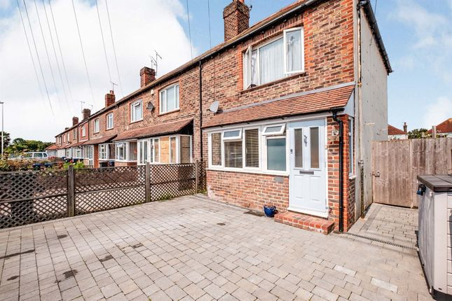 Thumbnail End terrace house for sale in Dominion Close, Broadwater, Worthing