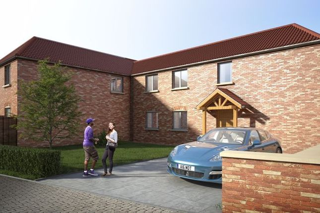 Thumbnail Semi-detached house for sale in Plot 4, Plum Tree Rise, North Leverton, Retford