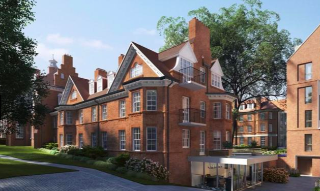 Thumbnail Terraced house for sale in Hampstead Manor, Kidderpore Avenue, Hampstead, London