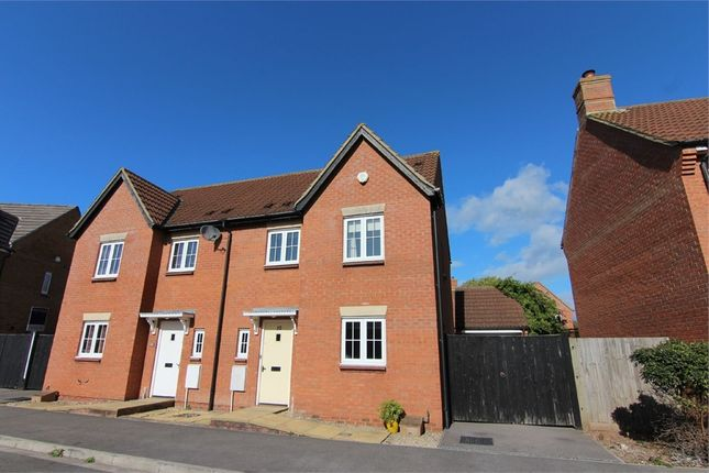 Thumbnail Semi-detached house for sale in The Brambles, St. Georges, Weston-Super-Mare