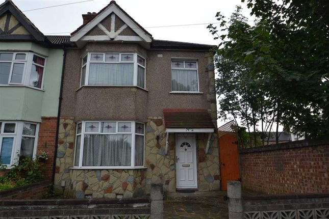 Thumbnail End terrace house for sale in Cavenham Gardens, Ilford, Ilford