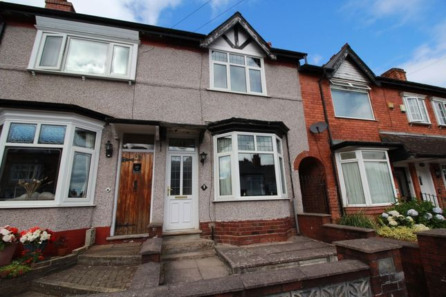 Thumbnail Terraced house for sale in Rathbone Road, Smethwick