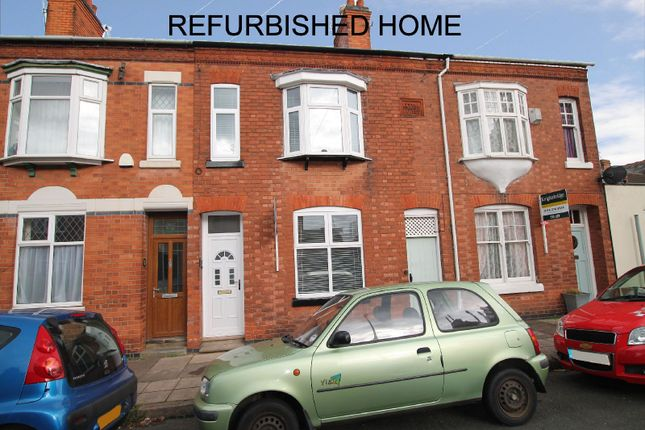 Thumbnail Terraced house for sale in Lytton Road, Clarendon Park, Leicester