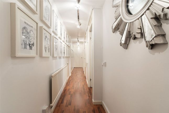 Hallway of Odhams Walk, London WC2H