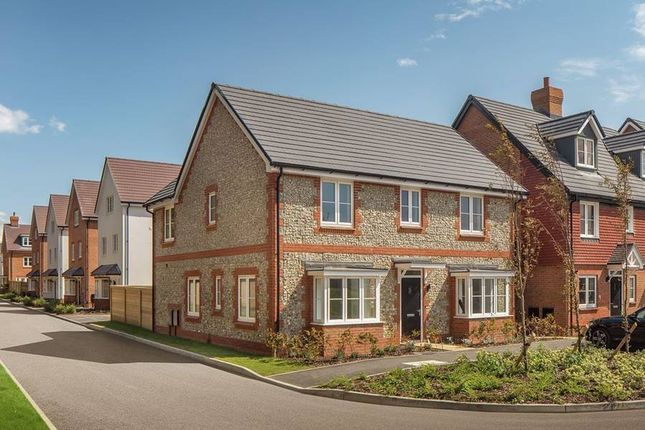 """Thumbnail Detached house for sale in """"The Parkley"""" at Roundstone Lane, Angmering, Littlehampton"""