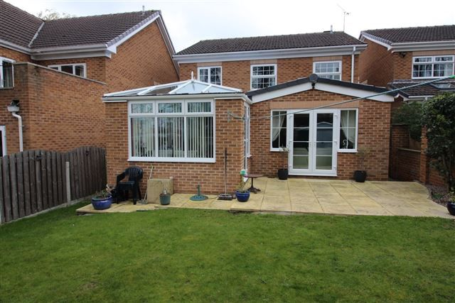 Thumbnail Detached house for sale in Rectory Gardens, Todwick, Sheffield