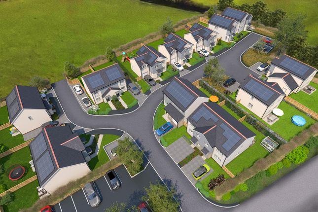 Thumbnail Semi-detached house for sale in Cross Roads, Lewdown, Okehampton