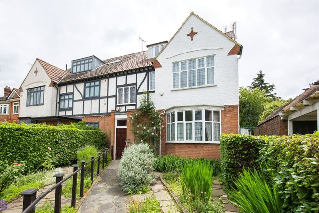 Thumbnail Semi-detached house for sale in Woodside Avenue, Muswell Hill, London