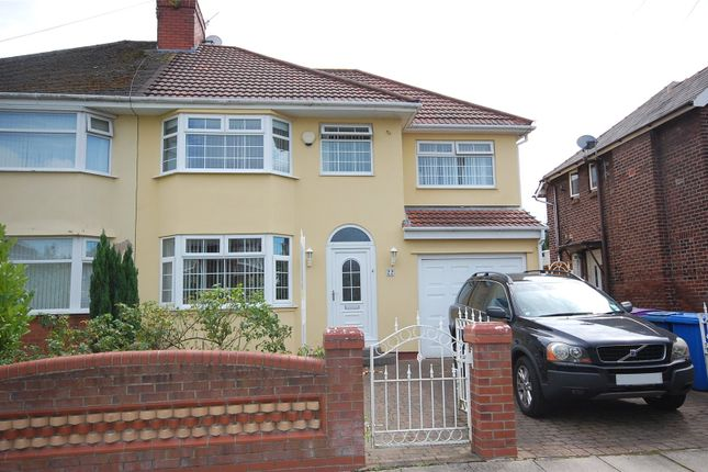 Thumbnail Semi-detached house for sale in Riverbank Road, Grassendale, Liverpool