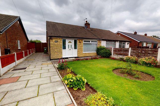 Thumbnail Semi-detached bungalow for sale in Lock Lane, Partington, Manchester