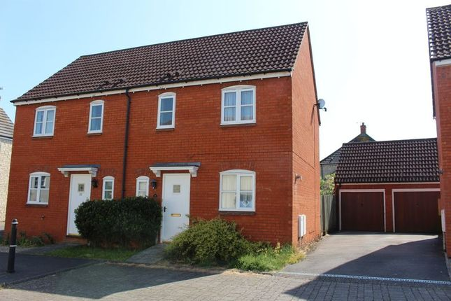 Thumbnail Semi-detached house for sale in Poppy Close, Calne