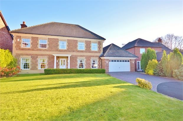 Thumbnail Detached house for sale in Dalamere Close, High Generals Wood, Washington, Tyne & Wear.