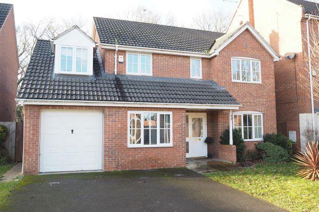 Thumbnail Detached house for sale in Bryans Close, Coddington, Newark