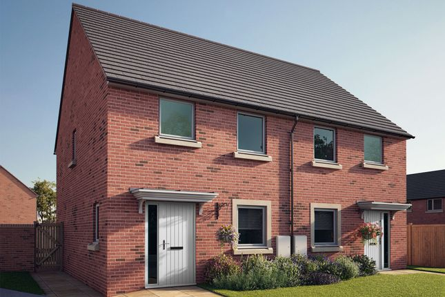 """Thumbnail Semi-detached house for sale in """"The Sheringham"""" at South Newsham Road, Blyth"""