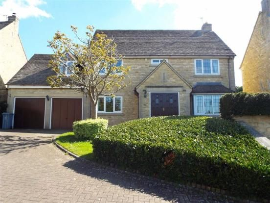 Thumbnail Detached bungalow to rent in Orchard Rise, Burford