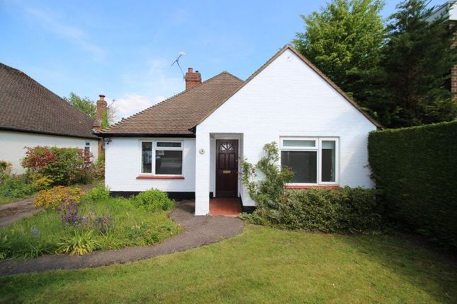 Thumbnail Bungalow to rent in Homefield Road, Sevenoaks