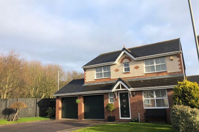 Thumbnail Detached house for sale in Langley Grove, Peterlee