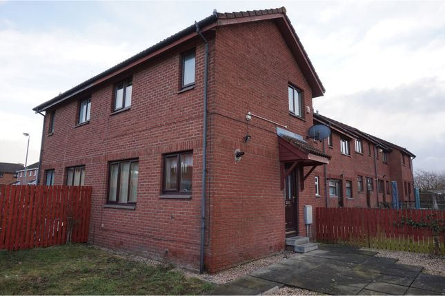Thumbnail End terrace house to rent in Blenheim Place, Larbert