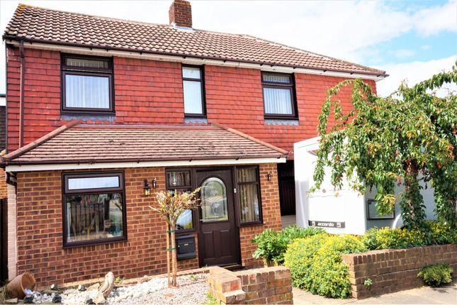 Thumbnail Semi-detached house for sale in Thornham Road, Gillingham
