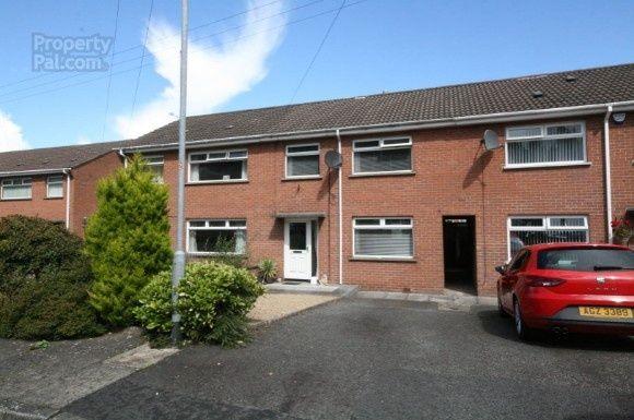 Thumbnail Terraced house to rent in Kilwarlin Park, Hillsborough