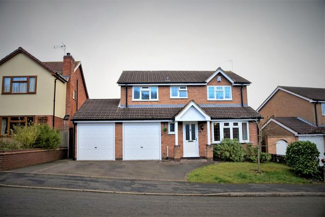 Thumbnail Detached house for sale in Garendon Way, Groby, Leicester
