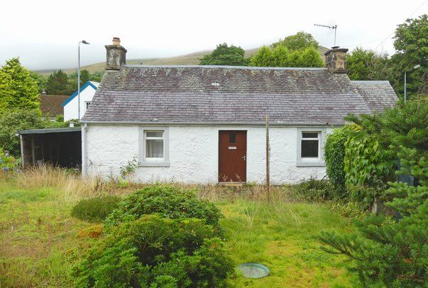 Thumbnail Cottage for sale in Drumburn Road, Muckhart, Dollar