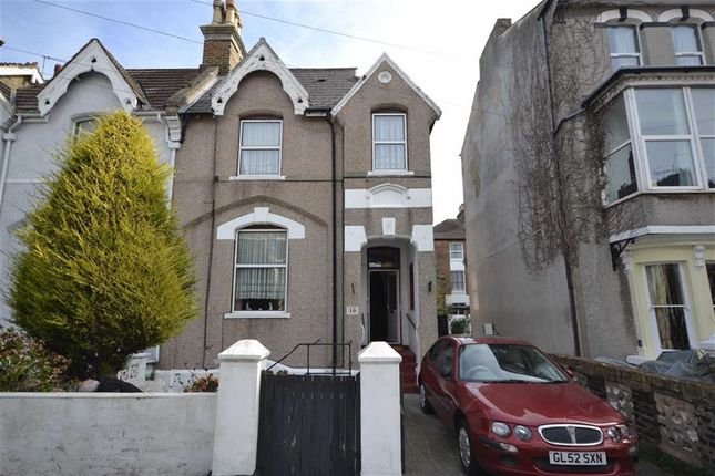 Thumbnail Semi-detached house for sale in North Avenue, Ramsgate, Kent