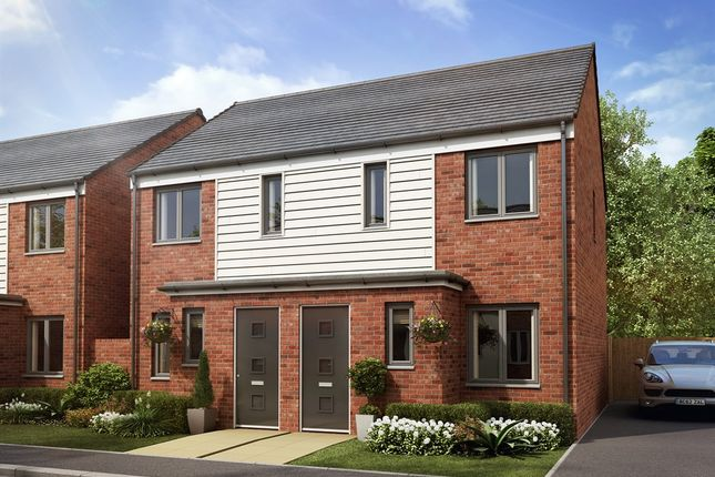 """Thumbnail Terraced house for sale in """"The Alnwick """" at Barrett Way, Aveley, South Ockendon"""