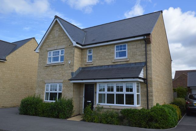 Thumbnail Detached house for sale in Greenfinch Close, Melksham