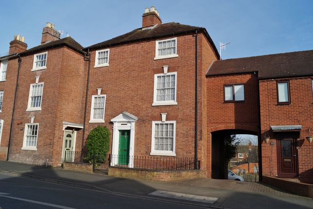 Thumbnail Town house to rent in Henwick Road, St Johns, Worcester
